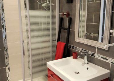 salle de douche le loft Saint Gilles croix de vie